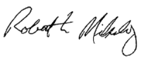 Robert Mikulay signature