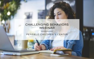 Challenging Behaviors Webinar
