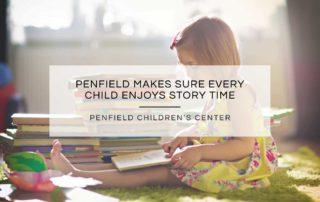 Every child enjoys story time