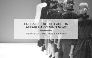Presale Fashion Affair